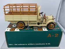 Rio 1:43 Fiat 1914 Autocarro militare centinato 18BL A-2 Diecast Collectible Car
