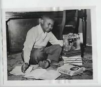 1954 VINTAGE ORIGINAL PHOTO SUGAR CHILE ROBINSON MUSICIAN CHILD STAR AFRICAN AME