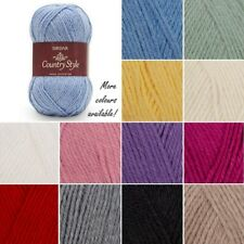 Sirdar Country Style Dk Double Knitting Yarn Knit Crochet Crafts 50g Ball Wool