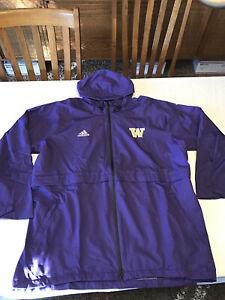 University of Washington Huskies Baby and Toddler Snap Hooded Jacket