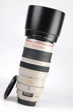 Canon EF 100-400mm Image Stabiliser F4.5-5.6 L IS USM Zoom Lens + F/R Caps +Hood