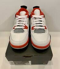 "Jordan 4 Retro ""Fire Red"" 🔥size 11c PreSchool(PS)(100% Authentic)"