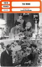 FICHE CINEMA : TIH MINH - Harald,Cresté,Biscot,Feuillade 1919