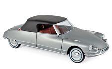 Citroen Ds 19 1961 Cabrio Gris Met.181598 Norev 1:18