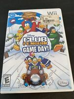 Club Penguin Game Day (Nintendo Wii, 2010) Disney Fast Shipping