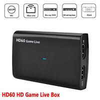 Carte de capture vidéo HDMI 4K 30P HDMI entrée / sortie pour jeu vidéo en direct