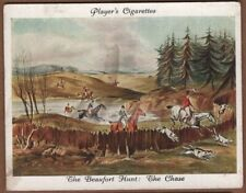 Beaufort Fox Hunt With Hounds The Chase 1930s Ad Trade Card