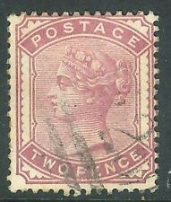 Great Britain 1880 deep-rose 2d very fine used  SG168a