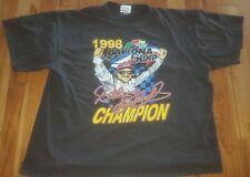1998 DAYTONA 500 DALE EARNHARDT CHAMPION SIZE M NASCAR 50 ANNIVERSARY Tshirt 3xl