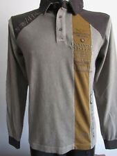 100% Aeronautica Militare Herren Polo- Shirt, Langarm; Gr.: M