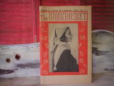 Old Workbasket Magazines Cooking,knitting,gardenin g,Crochet,Needlecraft book.