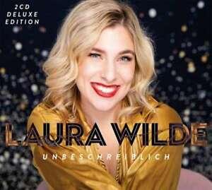 Laura Wilde 2CD Unbeschreiblich Deluxe + signiert Autogrammmkarte Album 2021 Neu