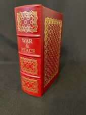 New listing Easton Collector Edition War and Peace Leo Tolstoy Leather Gilt. Condition Used.