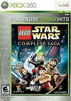Lego Star Wars Complete Saga Xbox 360/One Kids Game I II III IV V VI Episodes