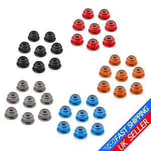 8 Pack RC Wheel Nuts Nyloc Locknuts M4 Tamiya For Traxxas TRX6 TRX4 TRX-6 TRX-4