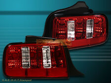 05-09 FOR MUSTANG RED CLEAR ALTEZZA TAIL LIGHTS 2005 2006 2007 2008 2009