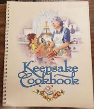 Fundraiser Watkins Keepsake Cookbook Appetizers Soup Bread Veggie Dessert NEW