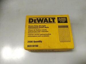 Dewalt 16 gauge straight finishing nails 38mm