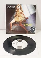 "Kylie Minogue STEP BACK IN TIME 7"" VINYL Netherlands Import 1990 PWS 023 PWL"