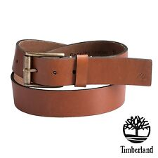 Timberland Belt 38mm Men's Rich Leather Classic Premium Business Size 38 NWT