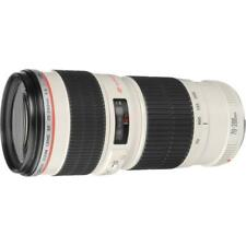 Canon EF 70-200mm f/4L USM EF Mount L-Series Lens + Case LP12224 & Hood ET-74