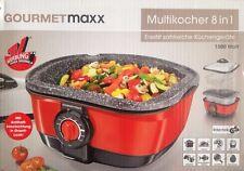 Gourmetmaxx Multikocher 8in1,Kochen, Braten, Backen, Frittieren, Dämpfen,Garen