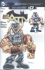 Batman #0 W/Original Art By RAK & Hand Signed ACEO Card