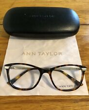 Ann Taylor Eyeglass Frames AT332 C02 Gold/Tortoise 52-17-135 New
