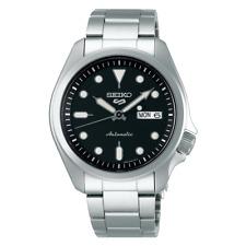 NEW Seiko 5 Sports 100M Automatic Men's Watch Black Dial SRPE55K1