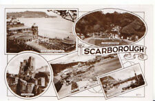 Yorkshire Postcard - Views of Scarborough - Real Photograph - Ref 4032A
