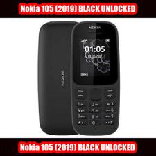 Nokia 105 (2019) 4th Ed. Doble Sim Desbloqueado Teléfono-Color Negro Con Sims Libre