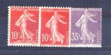 FRANCE STAMP ANNEE COMPLETE 1906 YVERT 134 / 136 TIMBRES NEUFS xx TTB