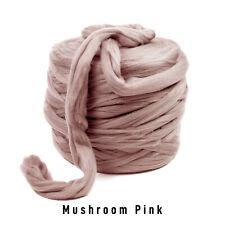 10kg Bale Mushroom Pink Mammoth® Thick Super Chunky Extreme Arm Knitting Acrylic