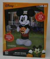 Gemmy 5 ft Airblown Inflatable Disney Mickey Mouse Halloween Yard Blow Up NEW