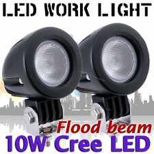 2X 10W Cree LED Flood Work Light LED Off Road Car Boat Vehicle Jeep Truck bike