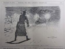 WW1 territoriale Sentry-siete lì? 23 SETTEMBRE 1914 PUNCH CARTOON