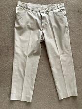 Essentials Men's chino trousers 40 inch waist 29 inch leg. Stone