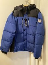 Diesel Boys Down Blue Jacket Size 18/20