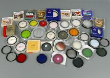 Large Collection of Mixed Camera Lens Filters - Hoya, Canon - Skylight, UV  |29