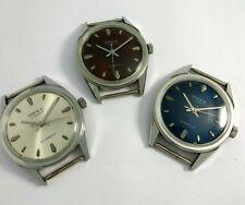 Lot of 3 Vintage USSR Soviet NOS Men's Wrist Watches 17 Jewels Cal. Poljot 2609*