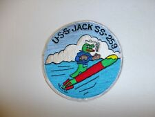 b1100 WW 2 US Navy Submarine Patch USS Jack SS-259 PB7