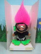 """Snorkeler - 5"""" Ace Treasure Troll Doll - New In Package - Rare"""