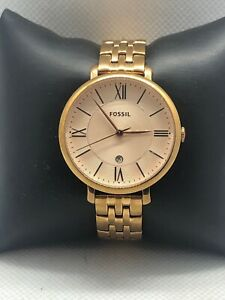 Fossil ES3435 Women's Stainless Steel Analog Rose Dial Quartz Wrist Watch XR25