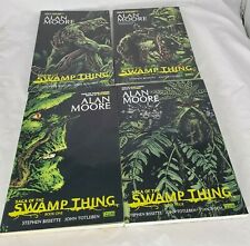 Saga of The Swamp Thing Alan Moore 1 2 3 4 Paperback Vertigo