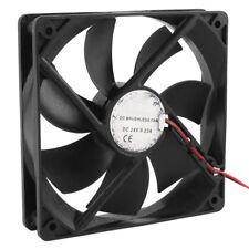120mm x 25mm DC 24V 2Pin Sleeve Bearing Computer Case Cooling Fan Q9R8