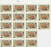 Vietnam Hunting Scene Stamps Crafts Decoupage or Collect Ref 28312
