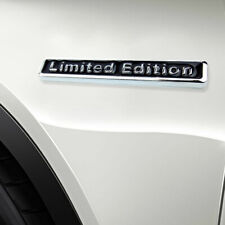3D Metal Black LIMITED EDITION Car Trunk Rear Lid Fender Sticker Decal Emblem(Fits: More than one vehicle)