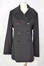 Calvin Klein    size 14  Wool/Cashmere blend Double breasted  coat  NWT