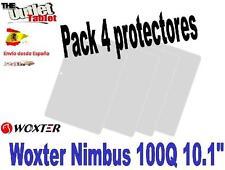 """Pack 4 Protectores de pantalla Tablet Woxter NIMBUS 100Q 10.1""""  100 Q UNIVERSAL"""