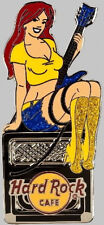 Hard Rock Cafe OINLINE 2010 Sexy AMP Amplifier GIRL SERIES PIN #2 of 3 - LE 50!